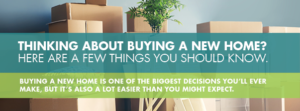 A few things to know when buying a new home